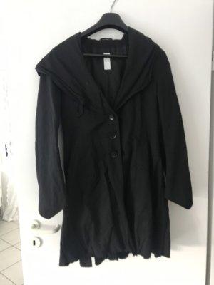 Defendo Capuchon jas zwart