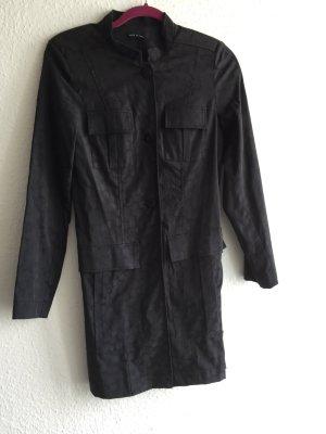 Schwarzer Mantel Große 36