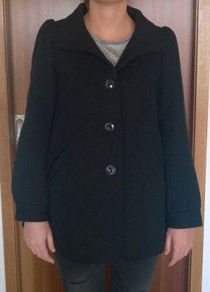Schwarzer Mantel Herbst/Frühjahr