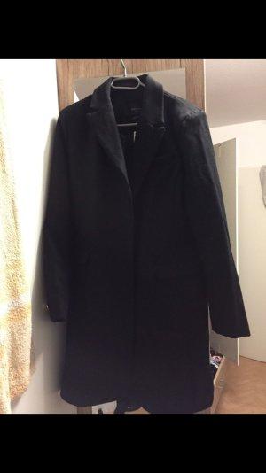 Schwarzer Mantel neu mit Etikett