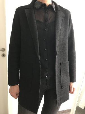 Schwarzer Mantel New Look