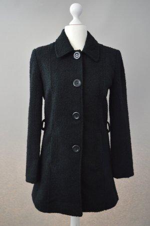 Schwarzer Mantel Saix Größe 36