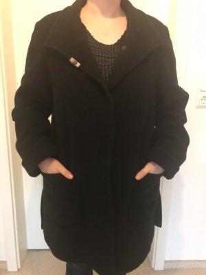 Schwarzer Mantel von Basler Größe 34/36