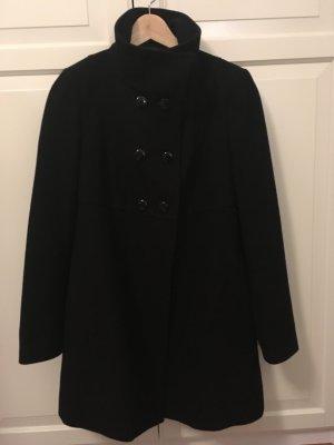 schwarzer Mantel von Benetton