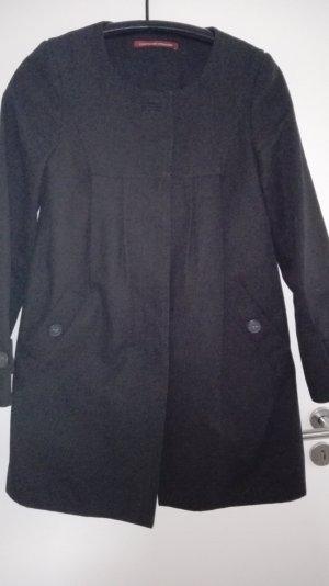 Schwarzer Mantel von Comptoir des Cotonniers