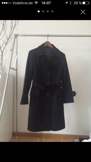 Schwarzer Mantel von Jake's Gr. 38