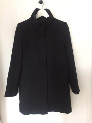 Mango Suit Cappotto in lana nero