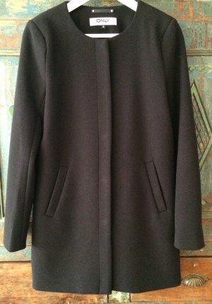 Schwarzer Mantel von Only, Gr. S