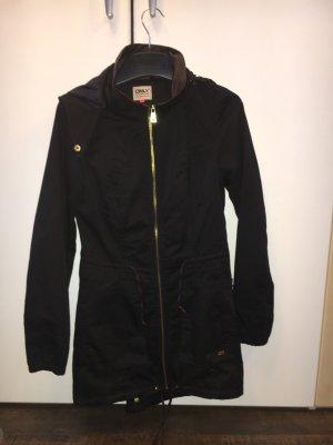 Schwarzer Mantel von Only Größe S !