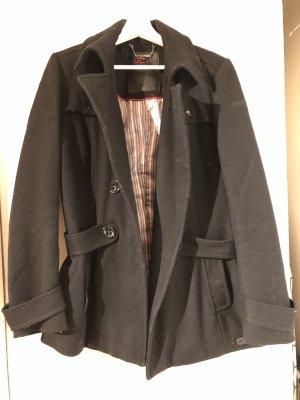 Schwarzer Mantel von s.Oliver