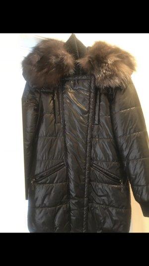 Schwarzer Mantel von Sempre in Größe s