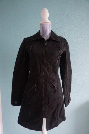 Schwarzer Mantel von Tally Weijl