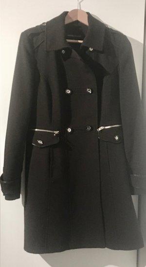 Warehouse Between-Seasons-Coat black