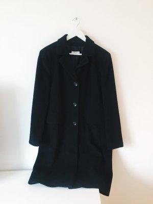 schwarzer Mantel (wie neu!)