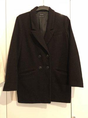 Schwarzer Mantel Wolle von Opus in 36