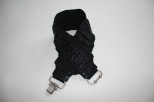 schwarzer MarcCain Stretch-Taillengürtel