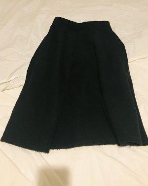 Uniqlo Falda de punto negro