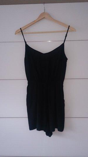 Schwarzer Mini Jumpsuit