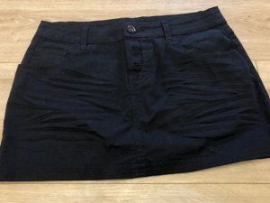5 Preview Denim Skirt black cotton