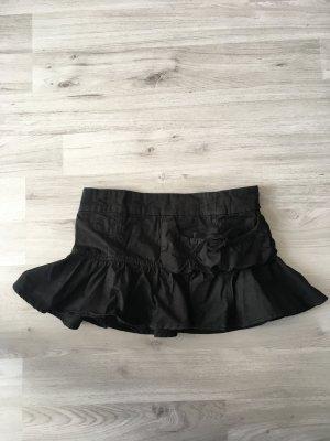 schwarzer Minirock - Gr. S