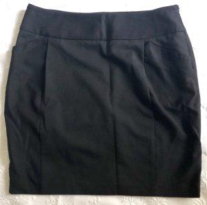 Comptoir des Cotonniers Jupe crayon noir laine