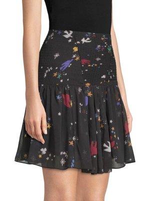 5e8a31bd974280 Maje Mini-jupe noir