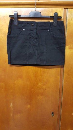 schwarzer Minirock XS