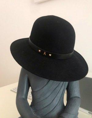 Patricia Pepe Zachte hoed zwart