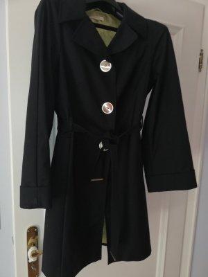 Laurèl Manteau court noir polyamide