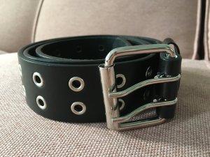 H&M Studded Belt black-silver-colored