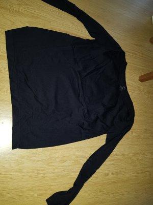 Camisa deportiva negro-turquesa