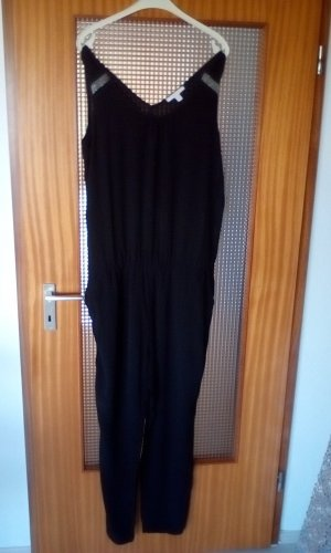 Esprit Jumpsuit black-light grey mixture fibre