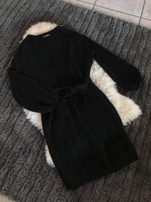 Schwarzer Oversize Cardigan