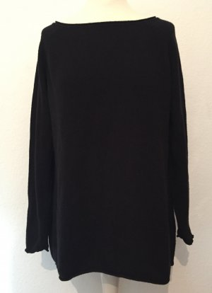 Schwarzer Oversized Pullover von H&M