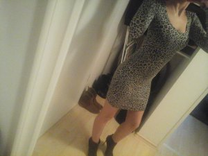 *** schwarzer Panther kleid ***