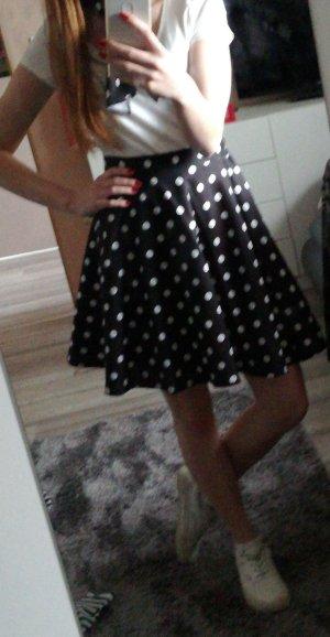 schwarzer Petticoat Rock