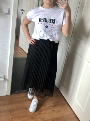 H&M Jupe à plis noir