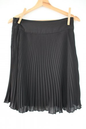 Pleated Skirt black polyester