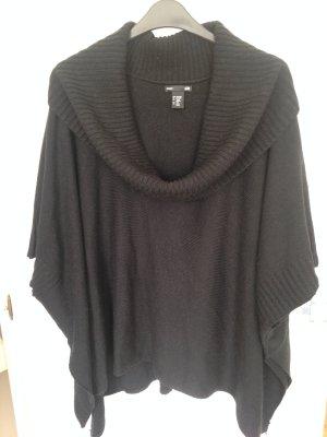 Schwarzer Poncho von H&M