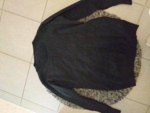 no name Oversized Sweater black