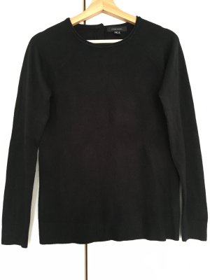 Atmosphere Fine Knitted Cardigan black