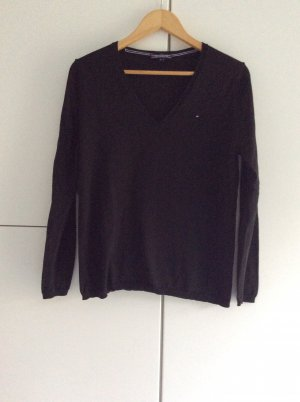 Tommy Hilfiger V-Neck Sweater black