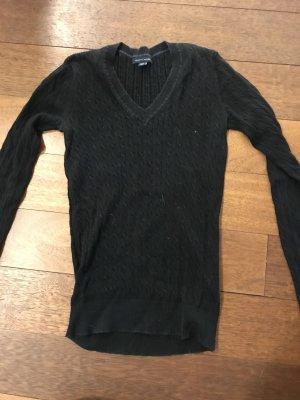 Tommy Hilfiger V-Neck Sweater black