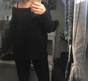 Schwarzer Pullover für den Herbst/Winter