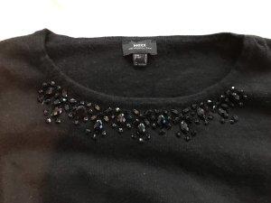 Schwarzer Pullover mit Perlen von Mexx