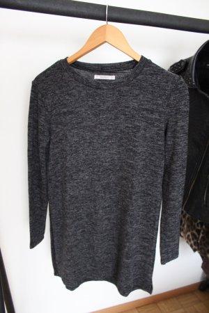 Pull & Bear Jersey largo negro-taupe