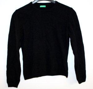 Schwarzer Pullover von Benetton