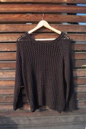 schwarzer Pullover von H&M  L