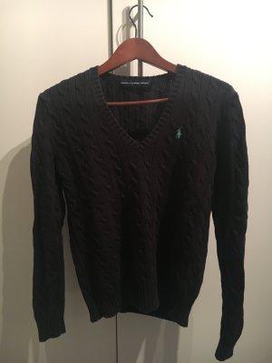 Schwarzer Pullover von Ralph Lauren