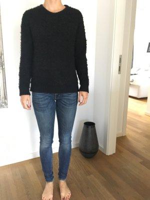 Schwarzer Pullover von Sandro